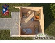 Log Cabin Aylesbury Vale 3m x 2.6m 004