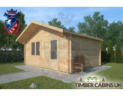 Log Cabin Banks 5m x 4m 002