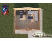 Log Cabin Banks 5m x 4m 004