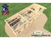 Log Cabin Barnsley 9m x 3.5m 006
