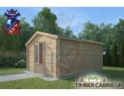 Log Cabin Bashall Eaves 4m x 4m 002