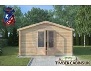 Log Cabin Bashall Eaves 4m x 4m 003