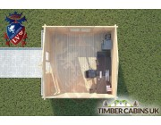 Log Cabin Bashall Eaves 4m x 4m 004