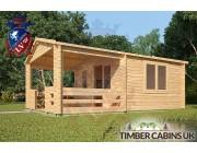 Log Cabin Basildon 4m x 6m 00