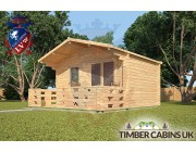 Log Cabin Bath 4m x 3m 002
