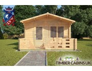 Log Cabin Bath 4m x 3m 003