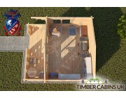 Log Cabin Bath 4m x 3m 004