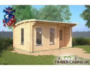 Log Cabin Belfast 5m x 3.5m 001
