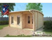 Log Cabin Belfast 5m x 3.5m 003