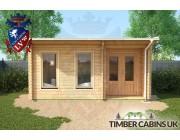 Log Cabin Belfast 5m x 3.5m 004