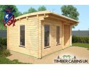 Log Cabin Belfast 5m x 3.5m 002