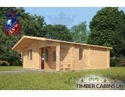 Log Cabin Beverley 6m x 7m 002