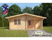 Log Cabin Beverley 6m x 7m 003
