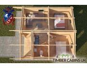 Log Cabin Beverley 6m x 7m 004