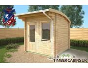 Log Cabin Birmingham 2.5m x 2.5m 002