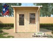 Log Cabin Birmingham 2.5m x 2.5m 003