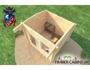 Log Cabin Birmingham 2.5m x 2.5m 004