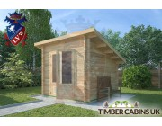 Log Cabin Blackburn 2.5m x 2.5m 002