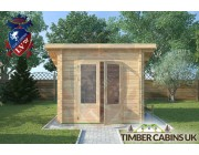 Log Cabin Blackburn 2.5m x 2.5m 003