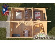 Log Cabin Blackpool 6m x 7m 004