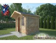 Log Cabin Bolton 2.5m x 2m 002