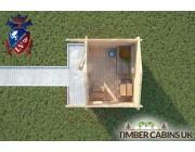 Log Cabin Bolton 2.5m x 2m 004