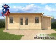 Log Cabin Bolton 7m x 3.5m 004