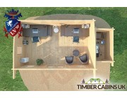 Log Cabin Bolton 7m x 3.5m 006