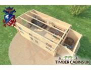 Log Cabin Bolton 7m x 3.5m 005
