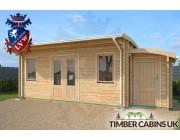 Log Cabin Bolton 7m x 3.5m 002