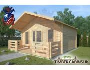 Log Cabin Borwick 5m x 4m 002