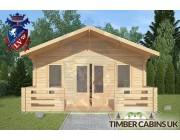 Log Cabin Borwick 5m x 4m 003