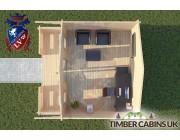 Log Cabin Borwick 5m x 4m 004