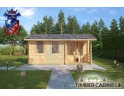 Log Cabin Bracknell Forest 5m x 3m 003