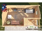Log Cabin Bracknell Forest 5m x 3m 004