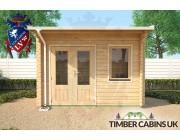 Log Cabin Bradford 3.5m x 2.5m 004