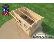 Log Cabin Bradford 3.5m x 2.5m 005