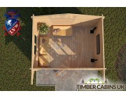 Log Cabin Brighton 4m x 3m 004