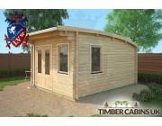 Log Cabin Bristol 3.5m x 4.5m 002