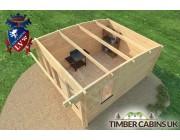 Log Cabin Bristol 3.5m x 4.5m 005