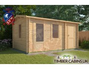 Log Cabin Broxtowe 3m x 4.5m 001