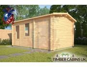 Log Cabin Broxtowe 3m x 4.5m 002