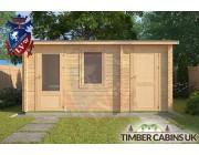 Log Cabin Broxtowe 3m x 4.5m 003