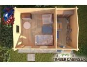 Log Cabin Broxtowe 3m x 4.5m 004