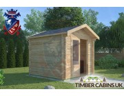 Log Cabin Burnley 2.5m x 2.5m 001