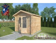 Log Cabin Burnley 2.5m x 2.5m 002