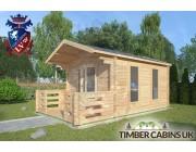 Log Cabin Bury 3m x 4m 002