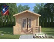 Log Cabin Bury 3m x 4m 003