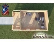 Log Cabin Bury 3m x 4m 004