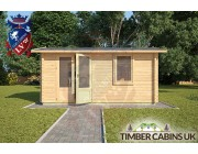 Log Cabin Caerphilly 4m x 3m 003